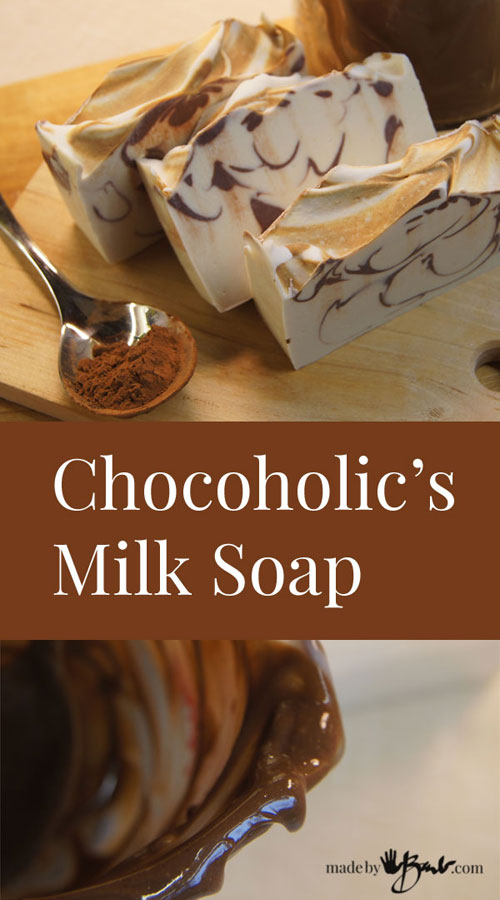 Chocoholic Soap Title