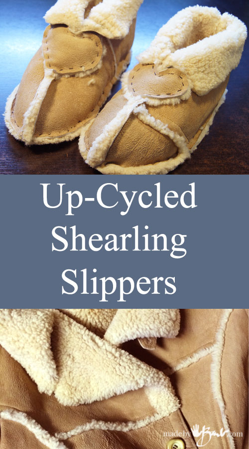 Shearling Slipper Feature