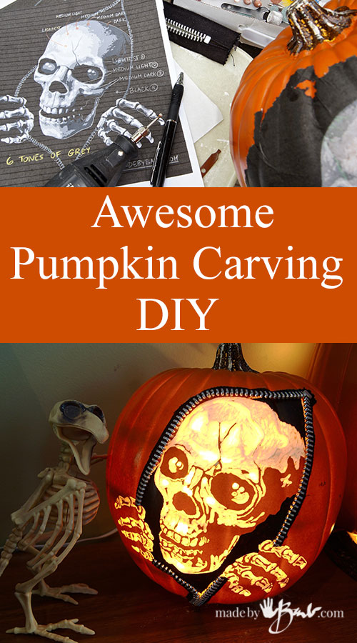 Awesome Pumpkin Carving Diy Feature Madebybarb Com