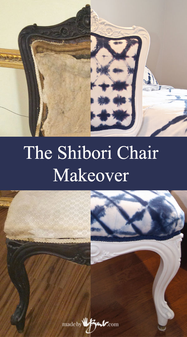 Shibori Chair Makeover–madebybarb Feature2