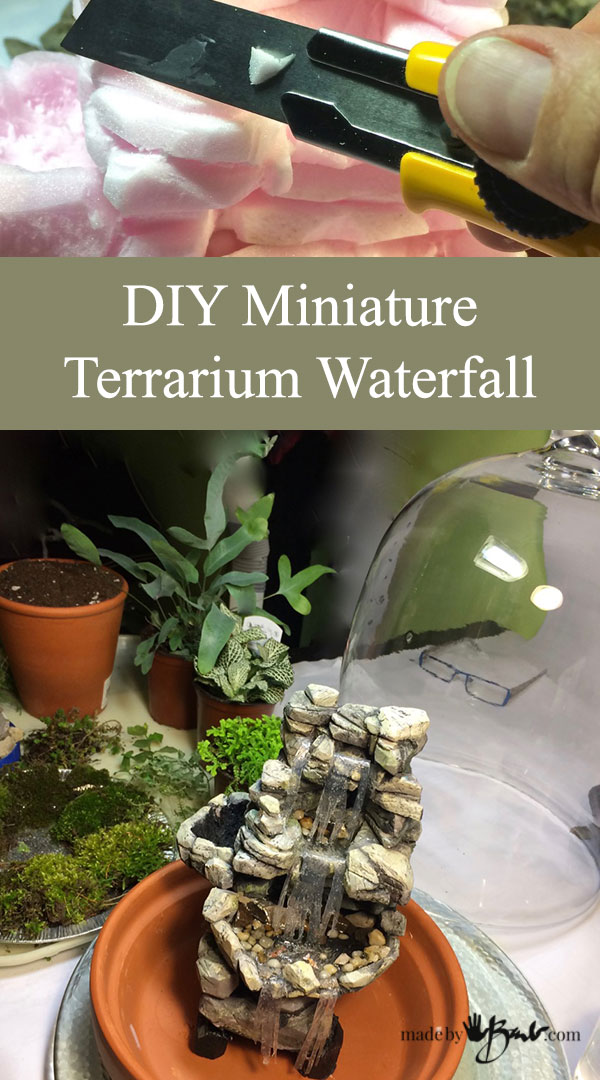 Miniature Terrarium Waterfall–madebybarb Feature3