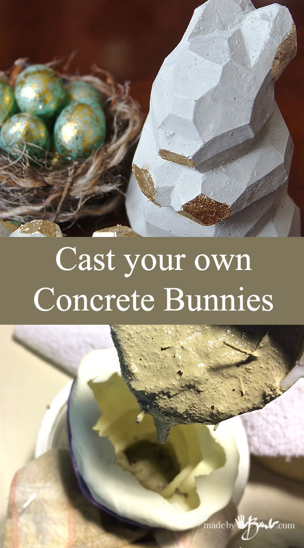 Cast Your Own Concrete Bunnies