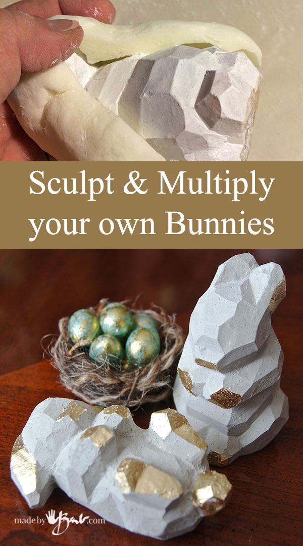 Sculpt Multiply Your Own Bunnies—madebybarb Feature