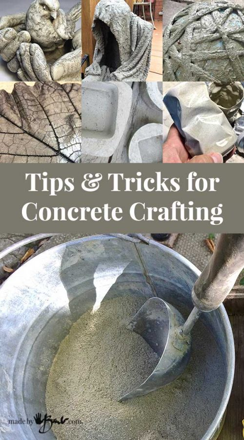 Tips And Tricks For Concrete Crafting Instructions To