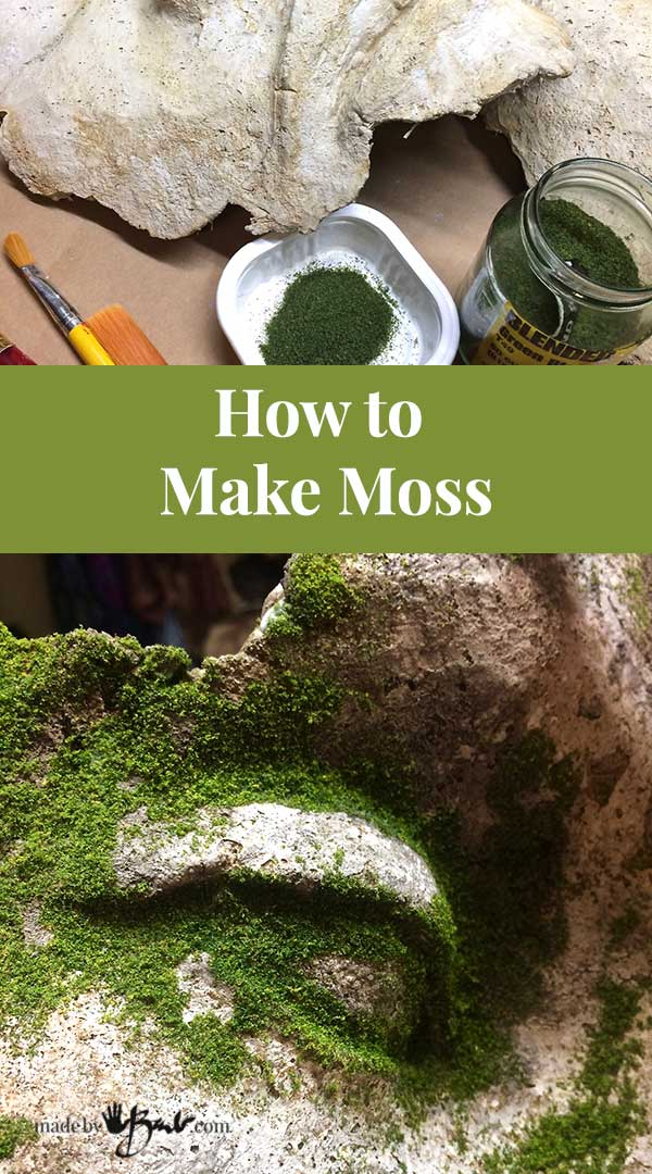 10 Ways To Decorate With Green Moss: Easy Method To Add Realistic Green Moss To Concrete