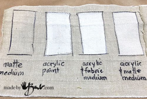 Acrylic Paint That Works Well With Fabric Painting Mediums