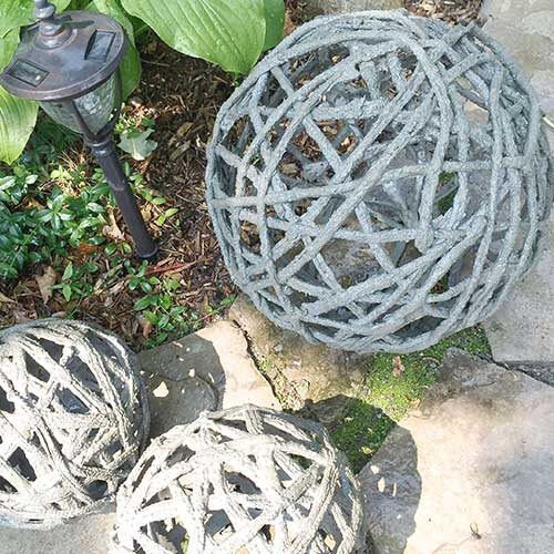 Concrete Orbs DIY