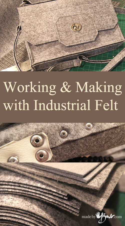 Working with Industrial Felt