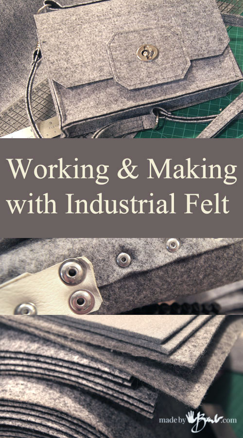 Working and making with Industrial Felt