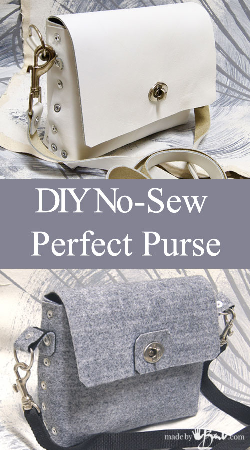 Diy No-sew Perfect purse