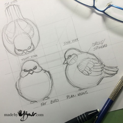 Chubby-PaperCrete-Bird---5-madebybarb