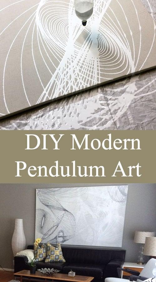 DIY Modern Pendulum Art