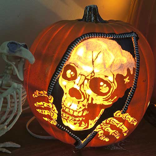 Awesome Pumpkin Carving DIY–madebybarb Hero