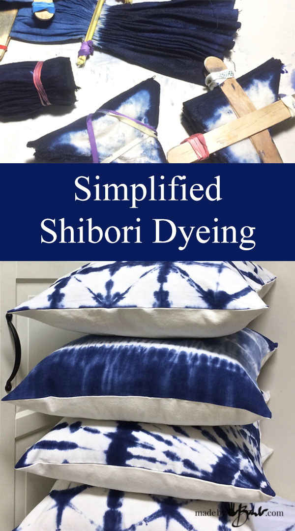 Simplified Shibori Dyeing