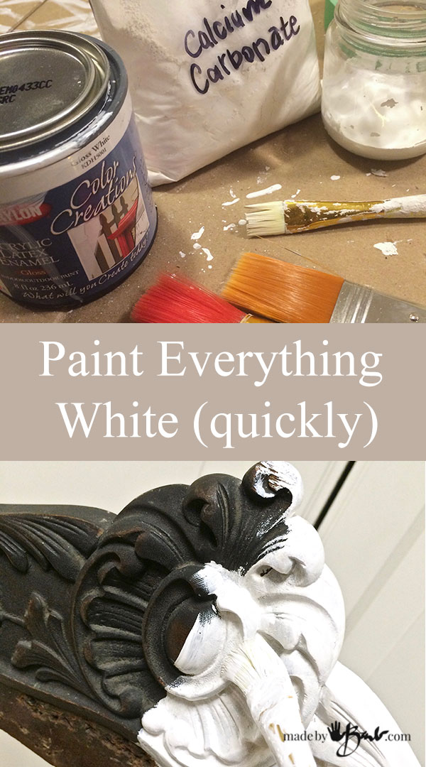 Paint Everything White (quickly)