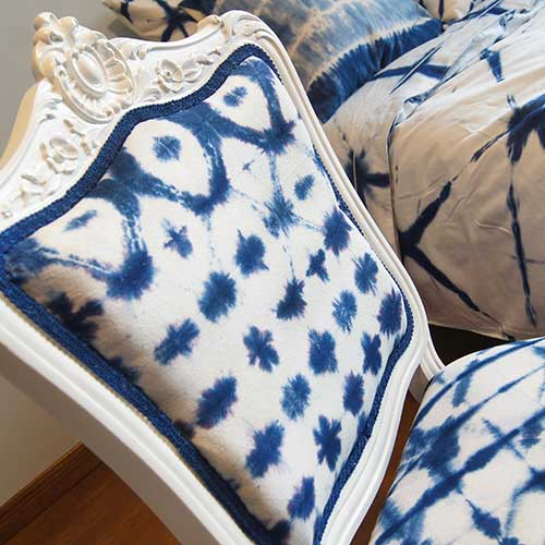 The Shibori Chair Makeover–madebybarb Hero