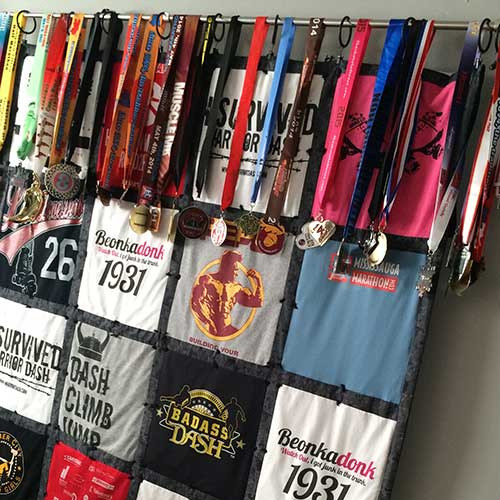 Sport Jersey Quilt Display–madebybarb Hero
