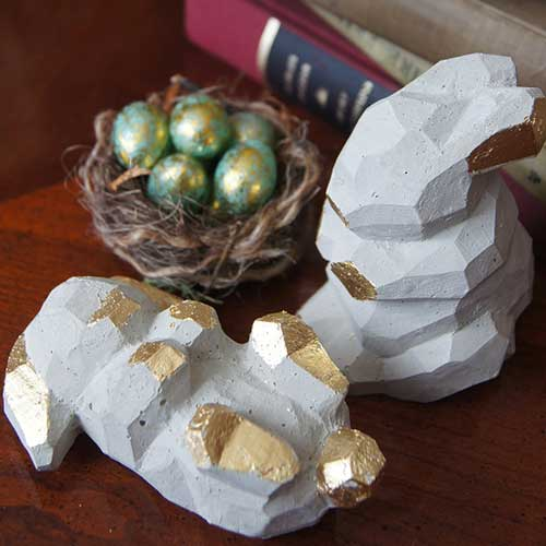 Cast Your Own Concrete Bunnies–madebybarb Hero