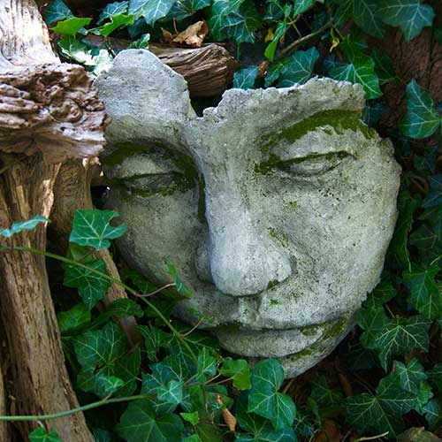 Diy Concrete Face Garden Sculpture Mold Made By Barb