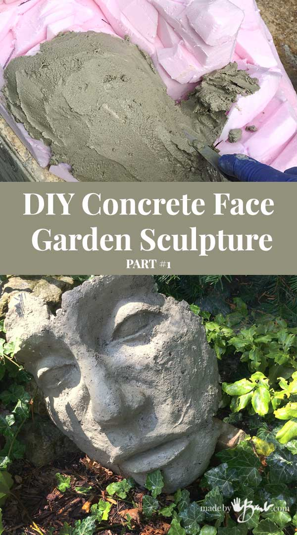 Home Garden DIY Four Side Pavilion Sculpture Cement Gypsum Concrete Casting Mold