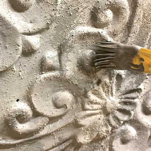Faux Concrete Paint Finish