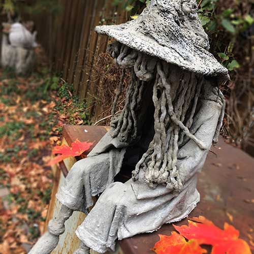 DIY Concrete Witch Ghoul–madebybarb Hero