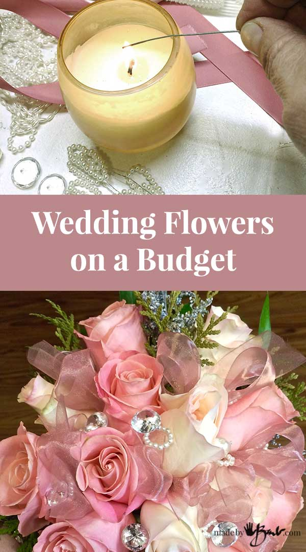 Wedding Flowers On A Budget Madebybarb Jewels And Easy Simple Bouquet Design