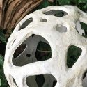 Large Holey Concrete Voronoi Orb