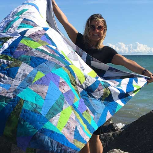 Easy First-time Quilt Project – 2