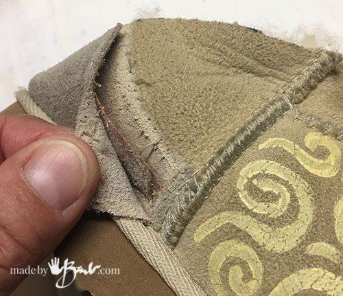 removing the heel cap