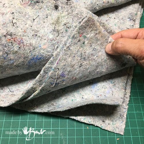 thick felt fabric