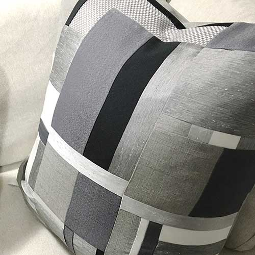 Modern Art Quilt Cushions