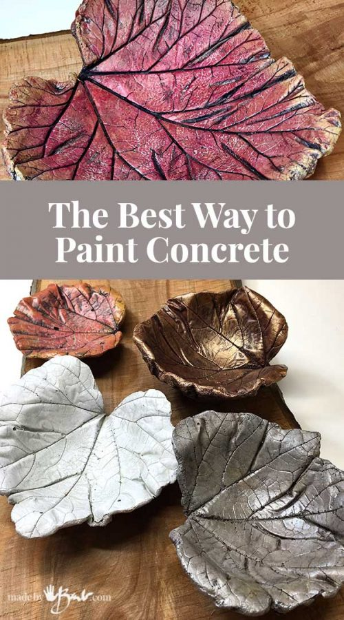 feature image with examples of painted concrete castings